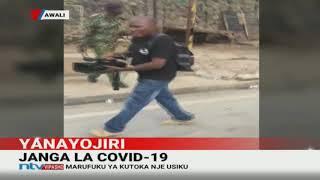 Maafisa wa GSU wampiga mpiga picha wa NTV, Mombasa