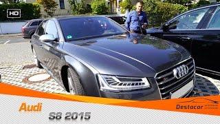 Осмотр Audi S8 2015 года. Без цензуры.