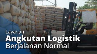 PT KAI Pastikan Layanan Angkutan Logistik Tetap Berjalan Normal saat Pandemi Covid-19