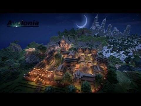 The World of Avalonia - Updated v1 1 Now with Cinematic Minecraft
