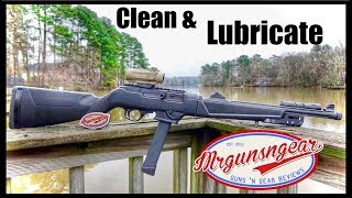 How To Clean & Lubricate A Ruger PC Carbine 9 (4k)