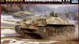 E-25 tank destroyer 1/2 scale