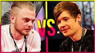 SQUID VS. DANTDM | Gaming Showdown LIVE!!