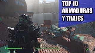 FALLOUT 4 | TOP 10 ARMADURAS Y TRAJES