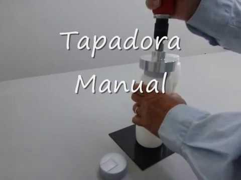 Tapadora Manual de operación  industrial. COLOMBIA