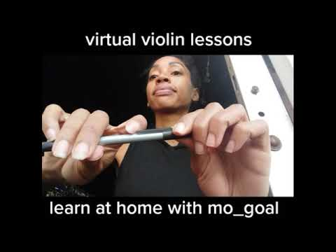 Learn to play the violin from home, this digital violinist teacher gives virtual instruction