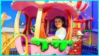 Çocuklar İçin Oyun Alanına Gittik Dev Gondola Bindik l Eğlenceli Çocuk Videosu