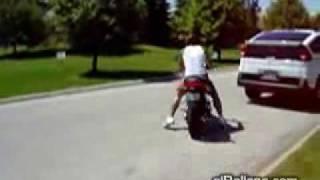 Videos graciosos de motos