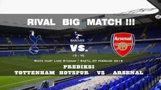 preview picture of video 'Prediction Tottenham Hotspur vs Arsenal BPL HD   Saturday 07 February 2015'