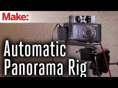 Build A Motorised Camera Rig For Taking High-Quality Panoramic Photos