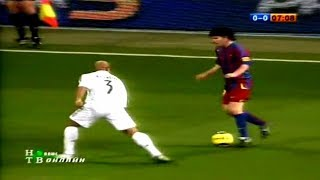 18 Year Old Lionel Messi Toying With Real Madrid ► Messi