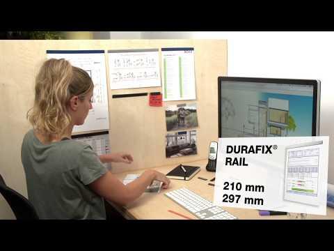 DURAFIX® Rail -   Magnetische Klemmleiste (DE)   DURABLE