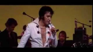 Elvis Presley - Live on stage in Las Vegas 1970 - Hound Dog and Blue Suede Shoes