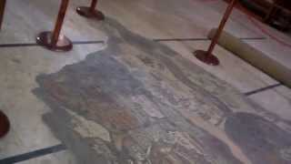 preview picture of video '(1133)The Madaba Map in the church of Saint George at Madaba, Jordan 3'