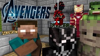 Monster School SKIBIDI Avengers DC vs Marvel Challenge  Школа монстров майнкрафт Minecraft Animation