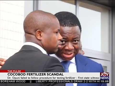 COCOBOD Fertilizer Scandal   The Pulse on JoyNews 16 7 18