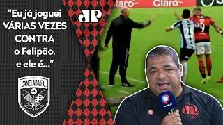 Gabigol vai para cima de Felipão e Vampeta aponta quem está errado