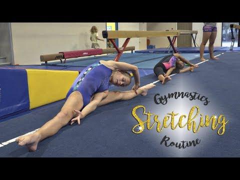 Gymnastics Flexibility Stretching Routine  Kyra SGG