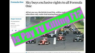 MP250 - Is Pay TV Going To Kill F1?