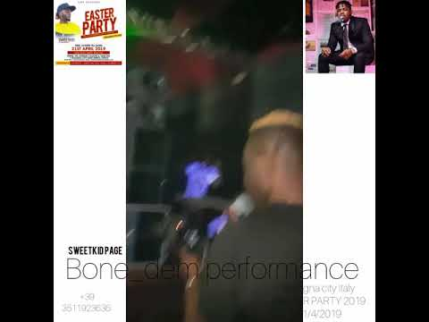 OLAMIDE was surprised at sweetkid performance 2019 italy