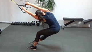 TRX Fullbody Workout #2 by shortcircuits with Marsha