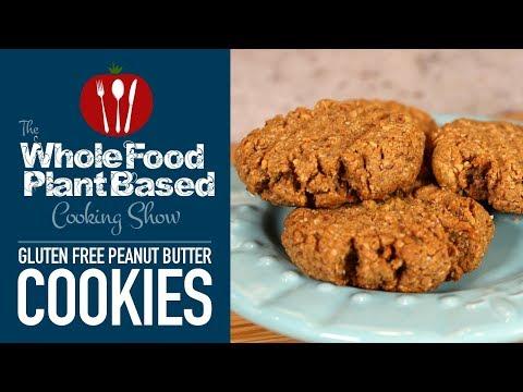 Gluten Free Peanut Butter Cookies/Plant Based Sugar Free
