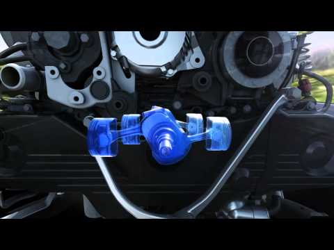Subaru Boxer Diesel Engine Video