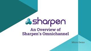 Sharpen video