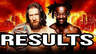 WWE WRESTLEMANIA 35 FULL SHOW RESULTS