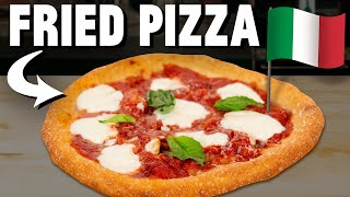 Making Italian Fried Pizza (Pizza Montanara)