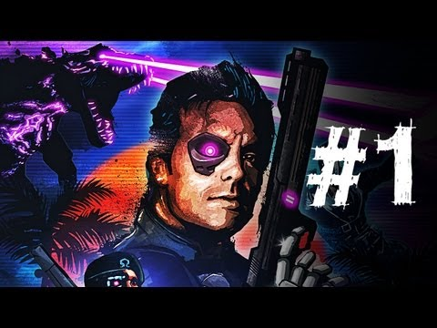 Far Cry 3 Blood Dragon Gameplay Walkthrough Part 1 - No Time To Bleed - Mission 1