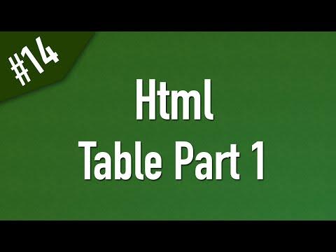 تعلم Html القائمة #1 الفديو #14