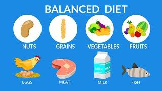 Balanced Diet || Best food for health