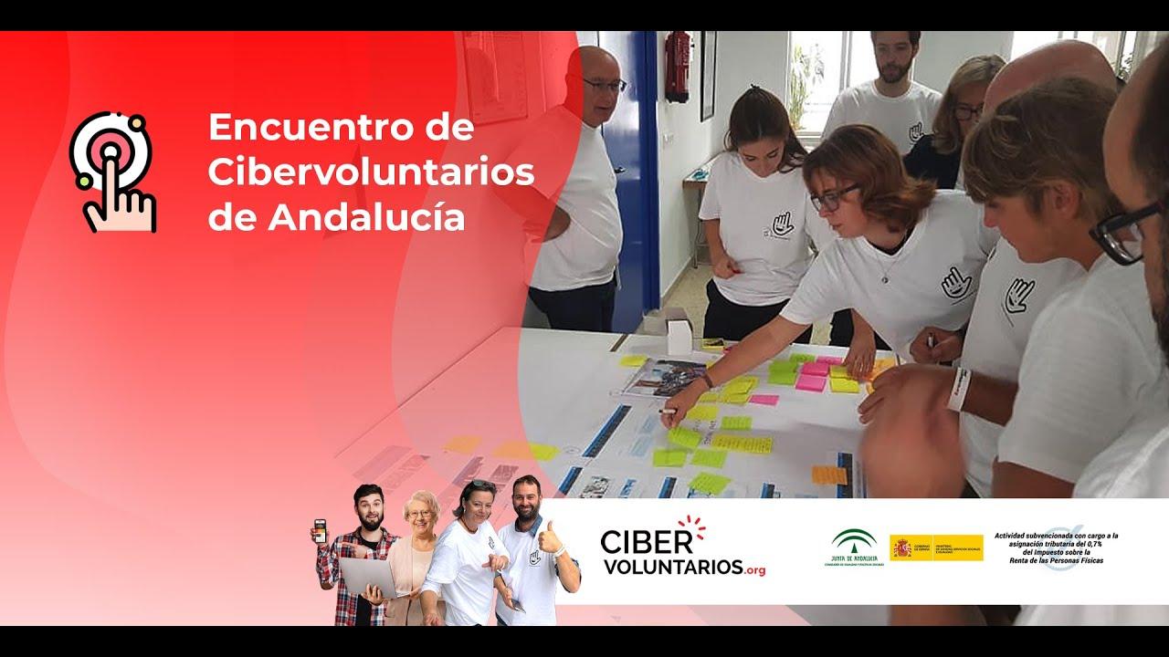 Experiencias y buenas prácticas de voluntariado tecnológico en los ciberencuentros de Andalucía