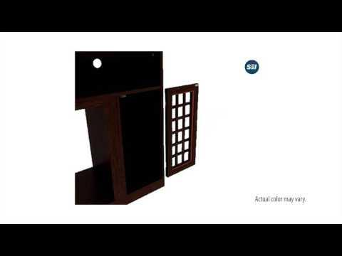 FE9301: Narita Media Electric Fireplace - Espresso Assembly Video