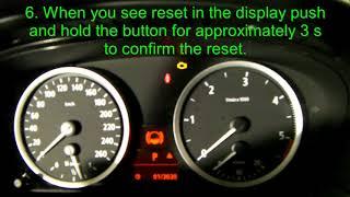 reset service indicator bmw e60 - मुफ्त ऑनलाइन