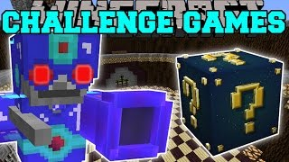 Minecraft: SKELETRON CHALLENGE GAMES - Lucky Block Mod - Modded Mini-Game