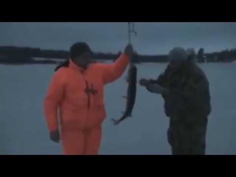 рыбалка в Новый Год на Можайке