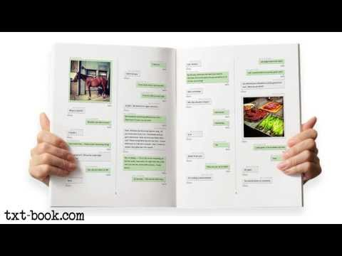 Video of Create Books From TXTs + SMS
