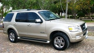 preview picture of video 'Mostrando una Ford Explorer 2006, Tequisquiapan, Queretaro.'