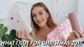 WHAT I GOT FOR CHRISTMAS 2017 // Christmas Haul!