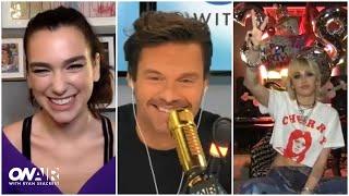 Miley Cyrus & Dua Lipa Talk 'Prisoner' | On Air With Ryan Seacrest