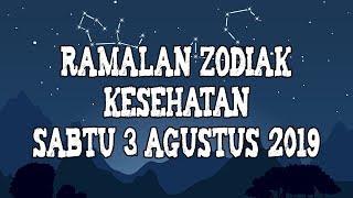 Ramalan Zodiak Kesehatan Besok Sabtu 3 Agustus 2019