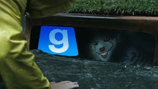 Gmod SCARY PENNYWISE IT Mod! Pennywise The Clown (Garry