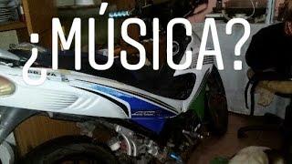 Como Ponerle Musica A La MOTO /Brava Alpino / Proyecto#01/Primer Parte/Vlogs 07