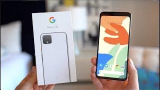 Google Pixel 4 XL Unboxing!