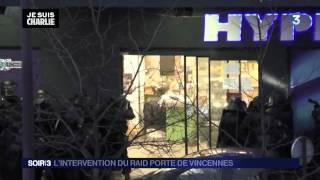 preview picture of video 'Assaut du RAID a Porte de Vincennes version Non Censuré'