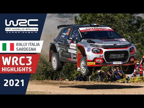 WRC3 2021 第5戦ラリー・イタリア Day1ハイライト動画