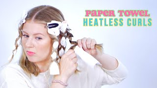 PAPER TOWEL HEATLESS CURLS