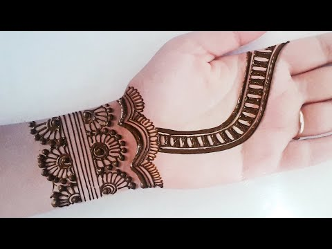 bridal full hand mehndi design by mehndi craft